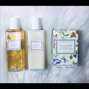 Crabtree & Evelyn Summer Hill Brand New!